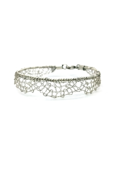 Laura Jane's Jewelry Silver Lace Bracelet - Alternate List Image