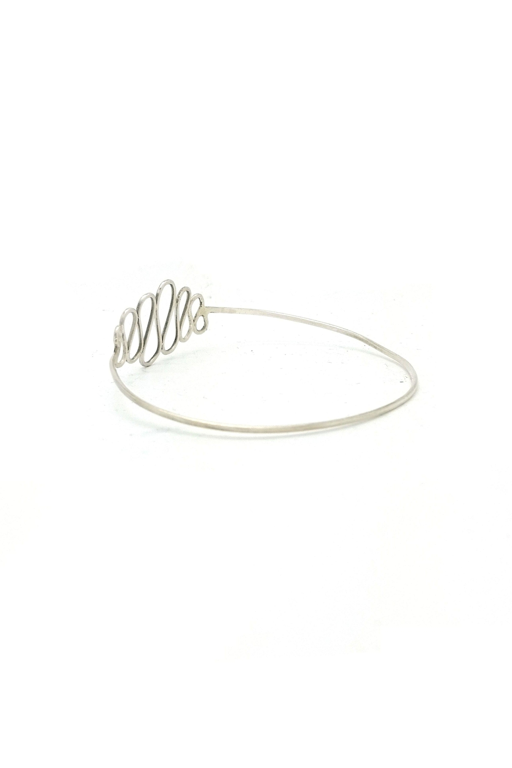 Laura Jane's Jewelry Squiggle Bangle - Side Cropped Image
