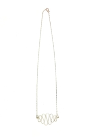Laura Jane's Jewelry Squiggle Necklace - Front cropped