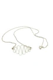 Laura Jane's Jewelry Squiggle Necklace - Front full body