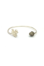 Laura Jane's Jewelry Squirrel Acorn Cuff Bracelet - Side cropped
