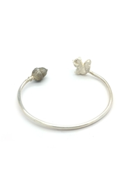 Laura Jane's Jewelry Squirrel Acorn Cuff Bracelet - Front full body