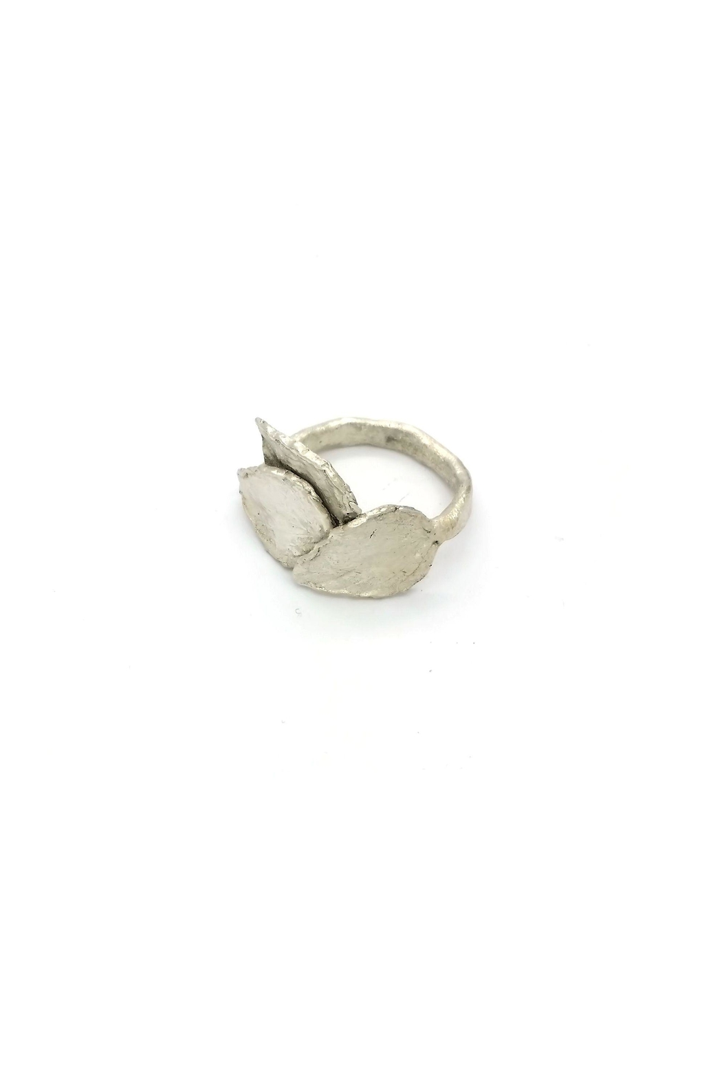 Laura Jane's Jewelry Three Leaf Ring - Front Full Image