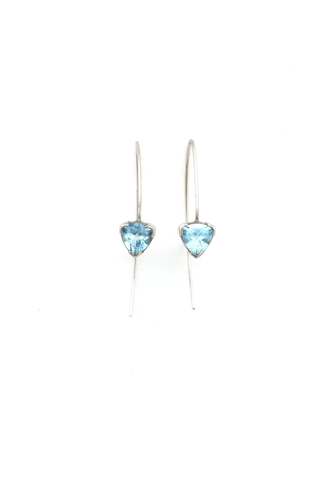 Laura Jane's Jewelry Topaz Trillion Earrings - Main Image