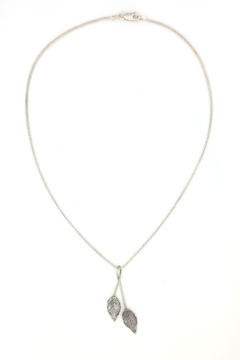 Laura Jane's Jewelry Two Leaf Pendant Necklace - Product List Image