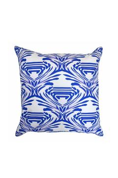 Shoptiques Product: Watercolor Cobalt Pillow