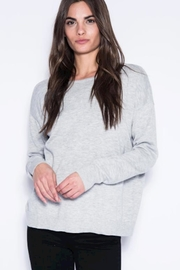 One Grey Day Laurel Grey Sweater - Product Mini Image