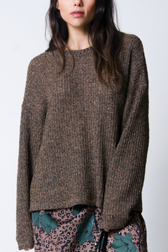 Wanderlux Laurel twist-back sweater - Product List Image