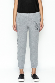 Lauren Moshi Hacci Cropped Pants - Front full body