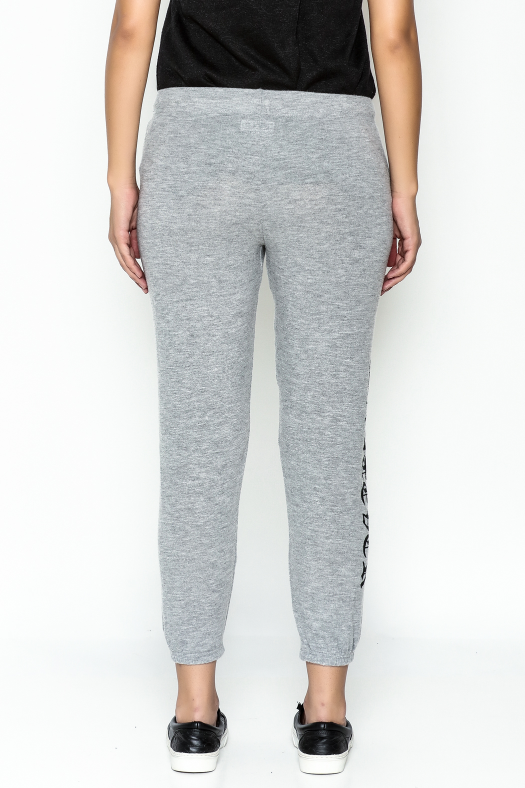 Lauren Moshi Hacci Cropped Pants - Back Cropped Image
