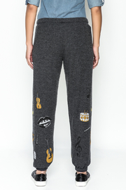 Lauren Moshi Hacci Lounge Pants - Back cropped