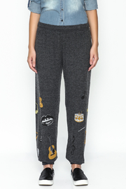 Lauren Moshi Hacci Lounge Pants - Front full body