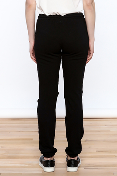 Lauren Moshi Knee Split Joggers - Alternate List Image