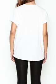 Lauren Moshi Peace Sign Pocket Tee - Back cropped
