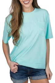Lauren James Bows & Bashful Tee - Front cropped