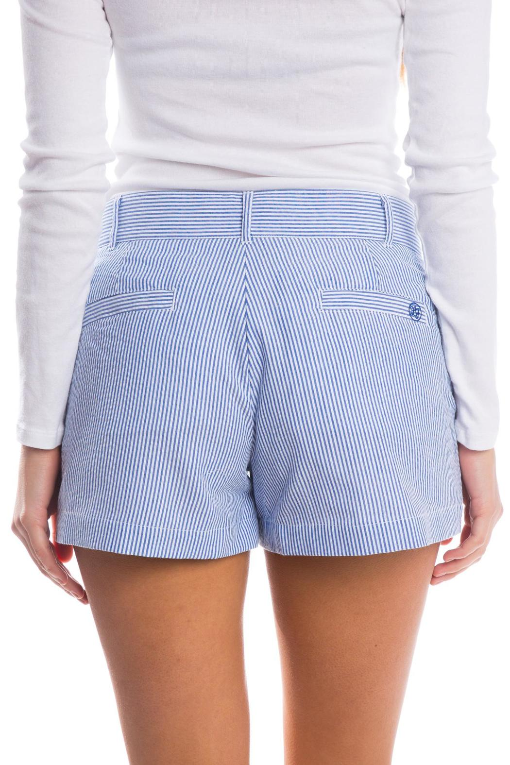 Lauren James Seersucker Poplin Shorts - Front Full Image
