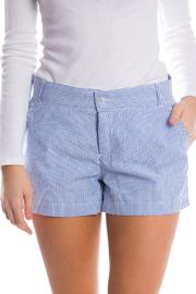 Lauren James Seersucker Poplin Shorts - Front cropped