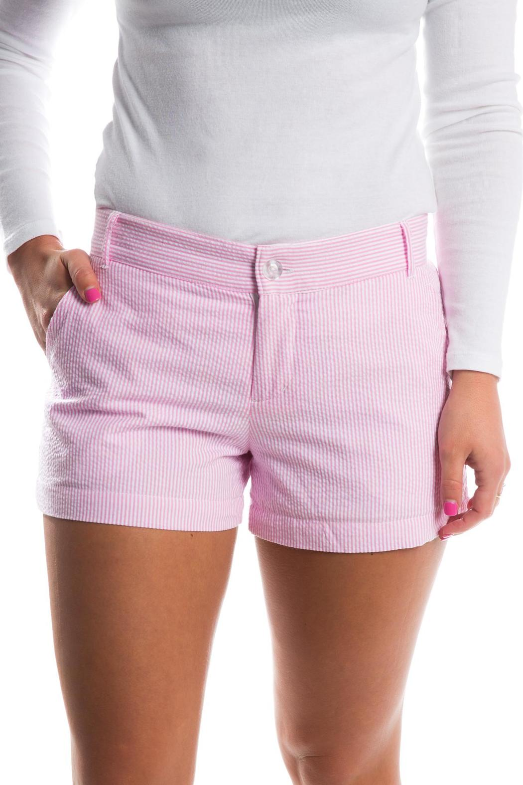 Lauren James Seersucker Poplin Shorts - Main Image