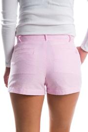 Lauren James Seersucker Poplin Shorts - Front full body