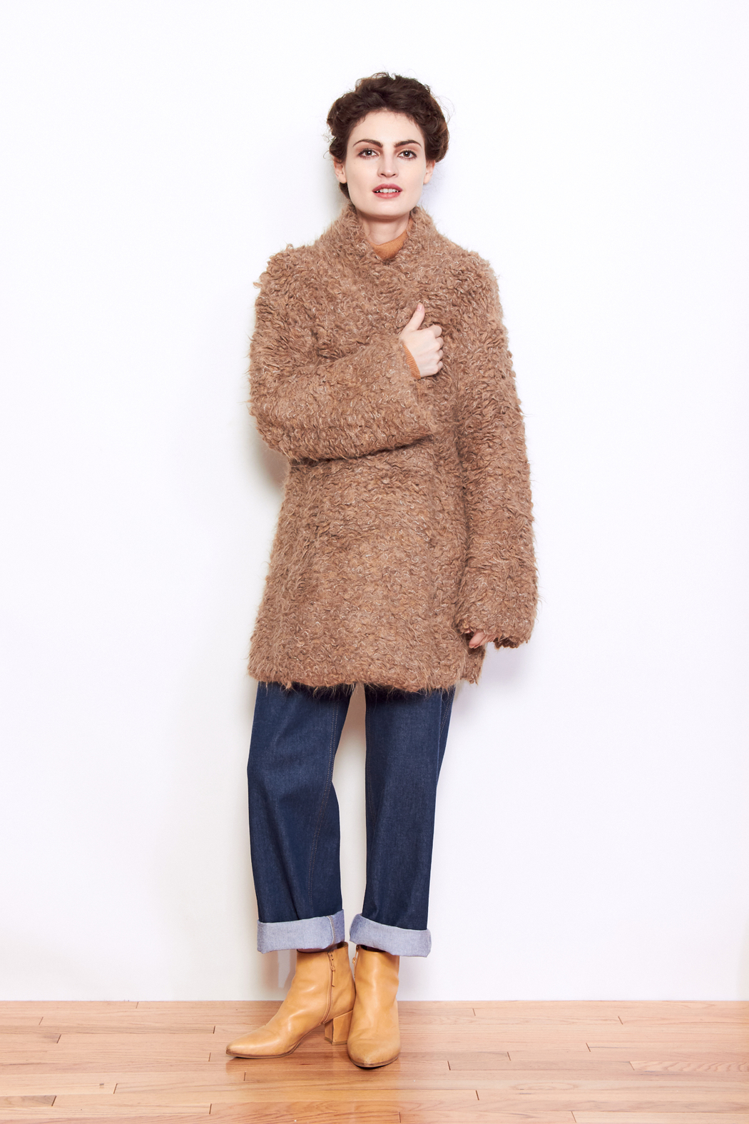 Lauren Manoogian Carpet Stitch Cardigan - Front Cropped Image