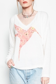 Lauren Moshi Bird Graphic Sweatshirt - Product Mini Image