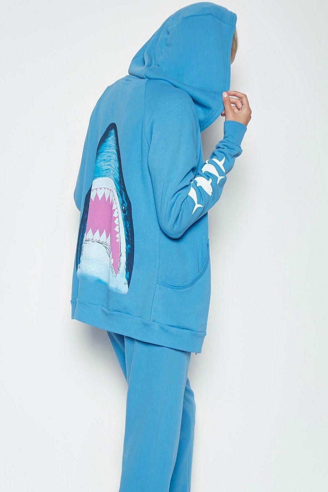 Lauren Moshi Chill Out Hoodie - Front Full Image