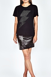 Lauren Moshi Crystal Lightening Bolt - Front cropped