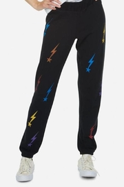 Lauren Moshi Gia Sweatpant Rainbow Lightning - Product Mini Image