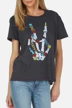 Lauren Moshi Graphic Tee - Alternate List Image