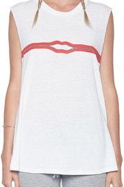 Lauren Moshi Kel Zipper Tank Top - Side cropped