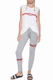 Lauren Moshi Kizzy Zipper Sweatpants - Front cropped