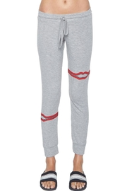 Lauren Moshi Kizzy Zipper Sweatpants - Side cropped