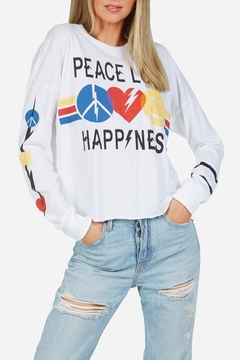 Lauren Moshi Long Sleeve T - Alternate List Image