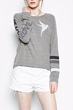 Shoptiques Product: Peace Love Aggie Sweatshirt