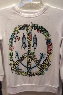 Shoptiques Product: Smile Longsleeve Pullover