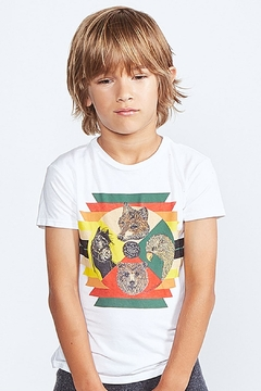 Shoptiques Product: Wolf Aztec Tee