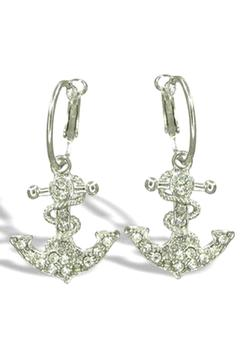 Lauren Spencer Anchor Earrings - Alternate List Image