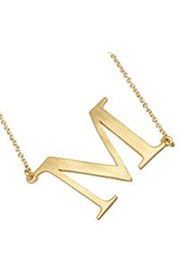Lauren Spencer Gold Initial Necklace - Other