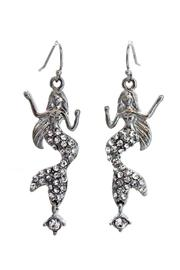 Lauren Spencer Mermaid Crystal Earrings - Product Mini Image