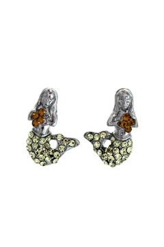 Lauren Spencer Mermaid Earrings Citrine - Alternate List Image