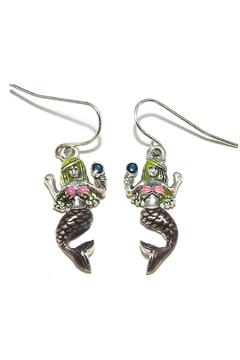 Lauren Spencer Mermaid Earrings - Alternate List Image