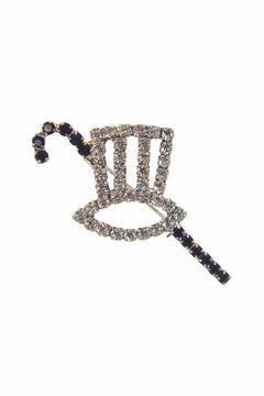 Lauren Spencer Top Hat & Cane Pin - Alternate List Image
