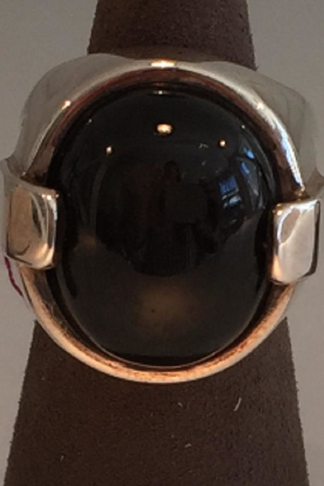 Laurent Léger Black Spinal Ring - Main Image