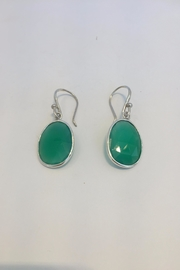 Laurent Léger Drop Green Earrings - Product Mini Image