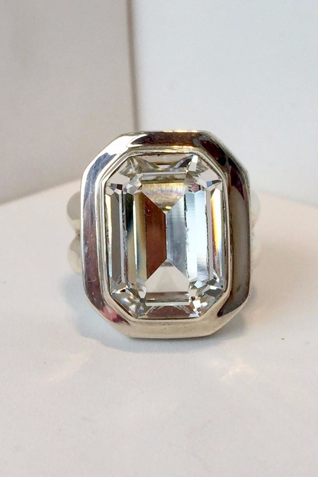 Laurent Léger Imperial Crystal Octagonal Ring - Main Image