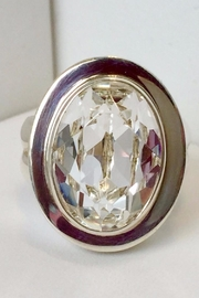 Laurent Léger Imperial Moonlight Oval Ring - Front cropped