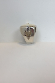 Laurent Léger Lotus Ring - Front full body