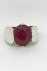 Laurent Léger Uprising Ruby Ring - Front cropped