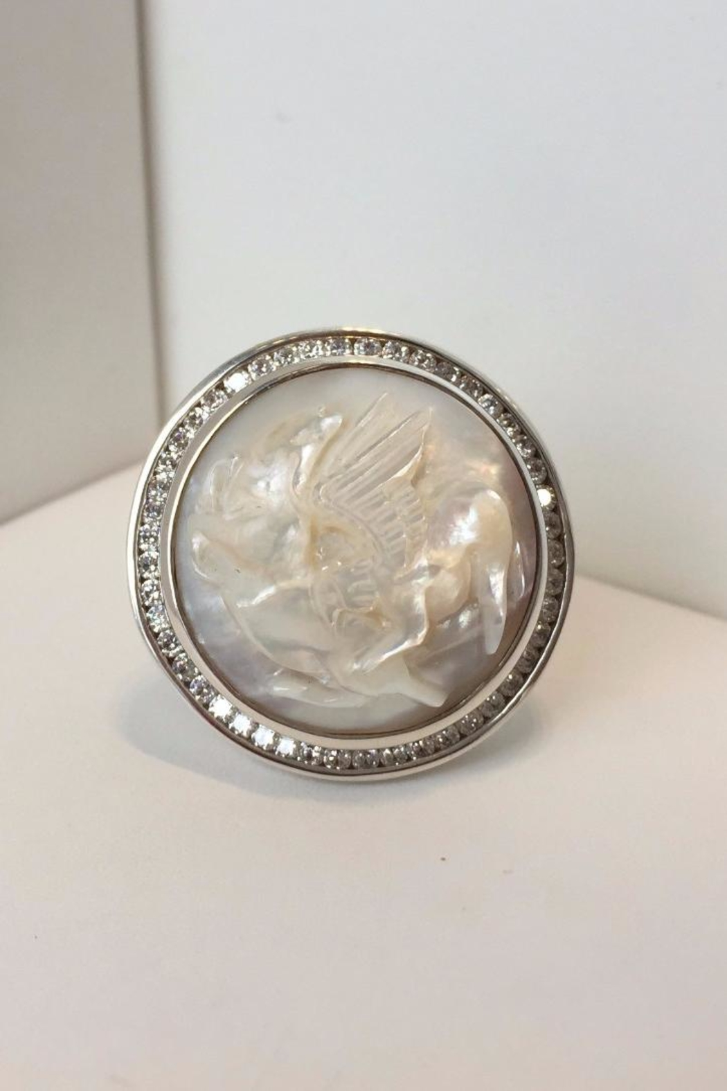Laurent Léger White Griffin Ring - Main Image