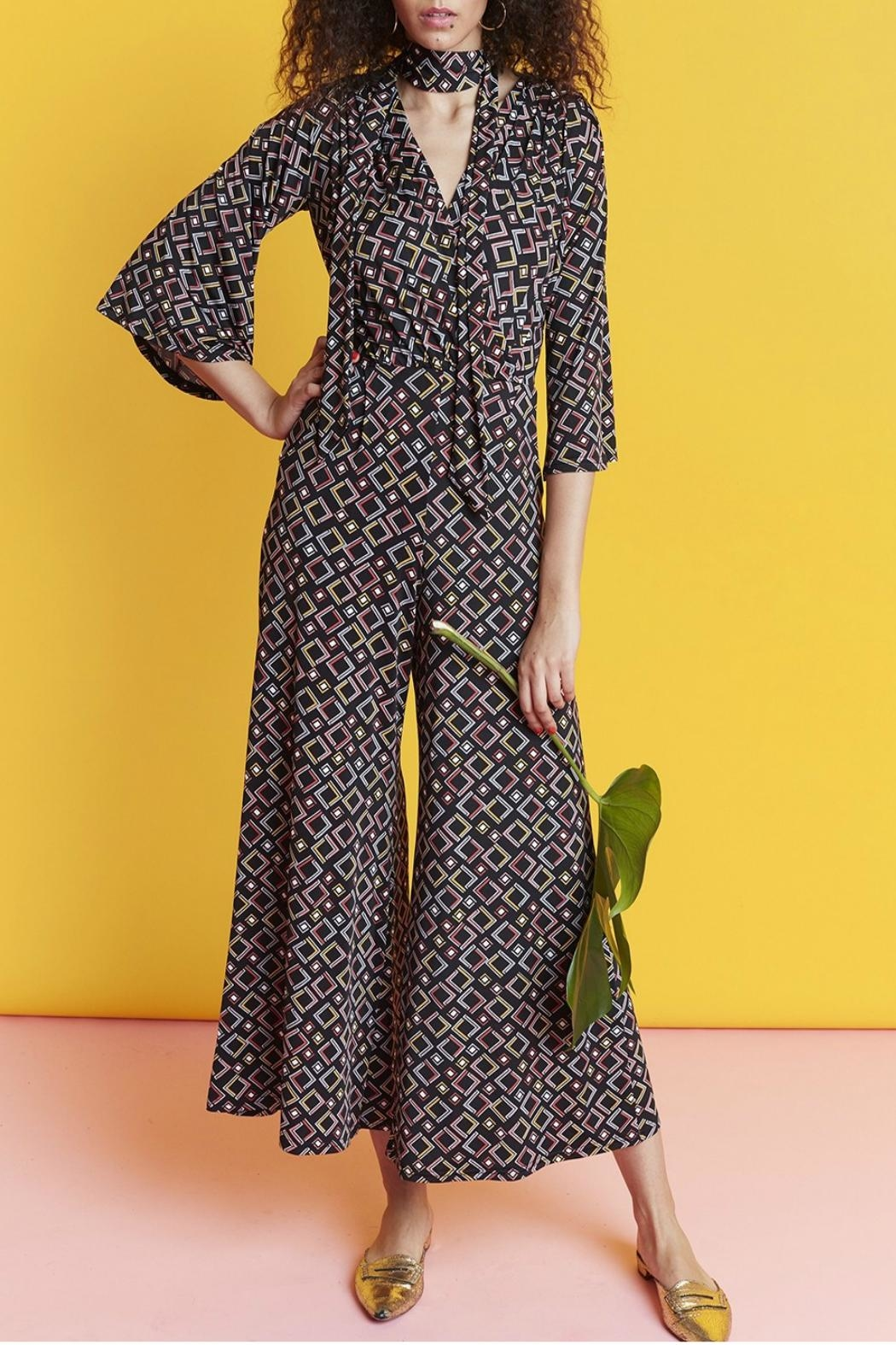 Onjenu Laurie Angles Jumpsuit - Front Full Image